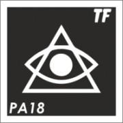 Трафарет РА18