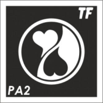 Трафарет РА2