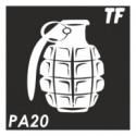 Трафарет РА20