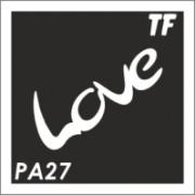 Трафарет РА27
