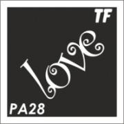 Трафарет РА28