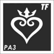Трафарет РА3