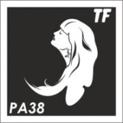 Трафарет РА38