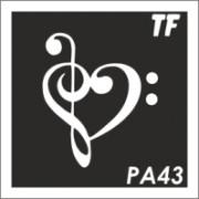 Трафарет РА43