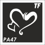 Трафарет РА47