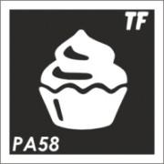 Трафарет РА58