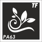 Трафарет РА63