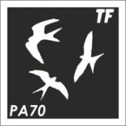 Трафарет РА70