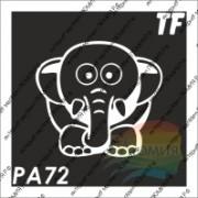 """Трафарет РА72 """"Слонёнок"""""""