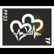 "Трафарет РР33 ""Сердца"""