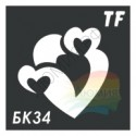 Трафарет БК34