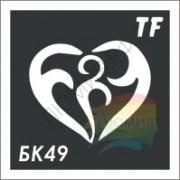 Трафарет БК49