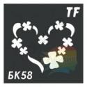 Трафарет БК58