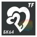 Трафарет БК64
