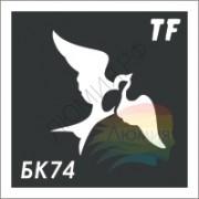 Трафарет БК74