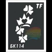 Трафарет БК114