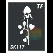 Трафарет БК117