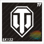 Трафарет БК132 WORLD OF TANKS