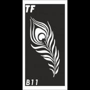 Трафарет В11