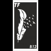 Трафарет В12