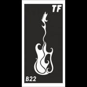 Трафарет В22