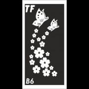 Трафарет В6