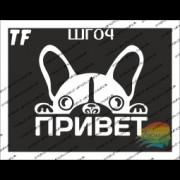 "Трафарет ШГ04 ""ПРИВЕТ"""