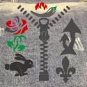 Трафареты для тату и декора