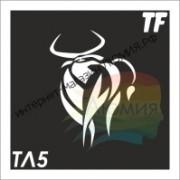 Трафарет ТЛ5 ТЕЛЕЦ