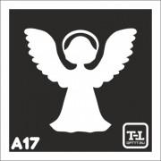 """Трафарет А17 """"Ангелочки"""""""
