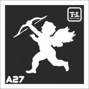"""Трафарет А27 """"Ангелочки"""""""