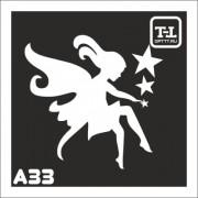 """Трафарет А33 """"Ангелочки"""""""