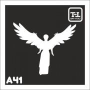 """Трафарет А41 """"Ангелочки"""""""