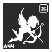 """Трафарет А44 """"Ангелочки"""""""