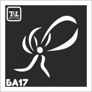 """Трафарет БА17 """"БАНТ"""""""