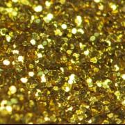 Блёстки - глиттеры ЗОЛОТО ОЛИМПИЯ МЕТАЛЛ. серия цветные 500 грамм - 1.0 мм.